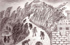 """Όροι αντιστροφής των ευαγγελικών αφηγήσεων στο μυθιστόρημα """"Ο άνεμος σφυρίζει στην Κουπέλα"""" του Θανάση Τριαρίδη."""